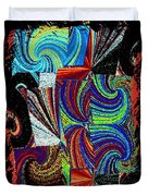 Abstract Fusion 37 Duvet Cover