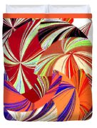 Abstract Fusion 56 Duvet Cover