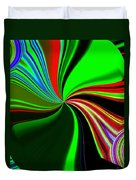 Abstract Fusion 57 Duvet Cover