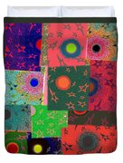 Abstract Fusion 79 Duvet Cover