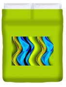 Abstract Fusion 85 Duvet Cover