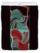 Abstract Fusion 88 Duvet Cover by Will Borden