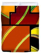 Abstract Fusion 92 Duvet Cover