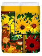 Abstract Fusion 99 Duvet Cover by Will Borden