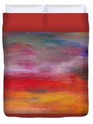 Abstract - Guash And Acrylic - Pleasant Dreams Duvet Cover