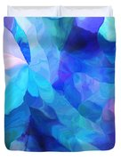 Abstract In Blues 052612 Duvet Cover
