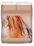 Abstract In July Duvet Cover by Deborah Benoit
