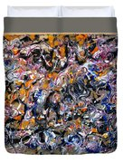Abstract Interconnection Duvet Cover
