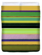 Abstract Landscape - The Highway Series Lll Duvet Cover