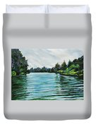 Abstract Landscape 5 Duvet Cover
