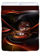 Abstract Lava Flow Fx  Duvet Cover