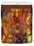 Abstract Medusa Fx   Duvet Cover