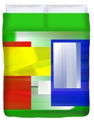Abstract Number One Duvet Cover
