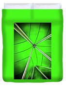 Abstract Of Green Duvet Cover