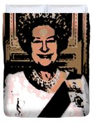 Abstract Portrait Of A Queen Duvet Cover