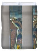 Abstract Reflection 34 Duvet Cover