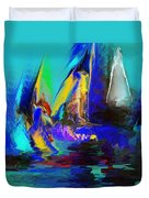 Abstract Regatta Duvet Cover