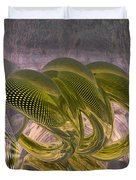 Abstract Rings Duvet Cover