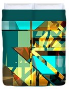 Abstract Sin 24 Duvet Cover