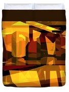 Abstract Sin 27 Duvet Cover