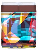Abstract Sin 28 Duvet Cover