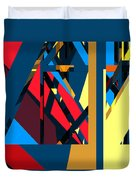 Abstract Sine L 19 Duvet Cover