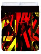 Abstract Sine L 20 Duvet Cover