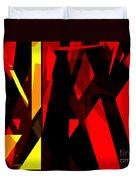 Abstract Sine L 21 Duvet Cover