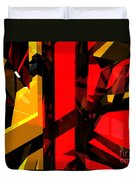 Abstract Sine L 5 Duvet Cover