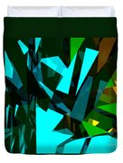 Abstract Sine L 7 Duvet Cover
