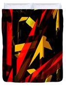 Abstract Sine P 2 Duvet Cover