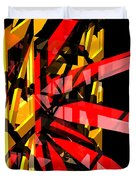 Abstract Sine P 3 Duvet Cover