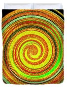 Abstract Spiral Duvet Cover