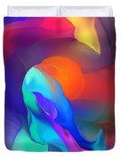 Abstract Still Life Objects De Art Duvet Cover