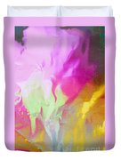 Abstract Summer's Bounty Duvet Cover