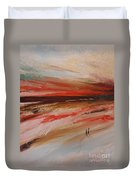 Abstract Sunset II Duvet Cover