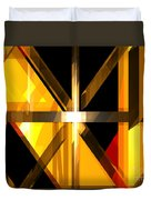 Abstract Tan 3 Duvet Cover