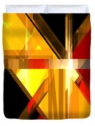 Abstract Tan 5 Duvet Cover