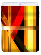 Abstract Tan 6 Duvet Cover