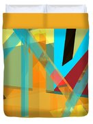 Abstract Tan 8 Duvet Cover