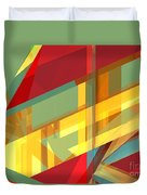 Abstract Tan 9 Duvet Cover