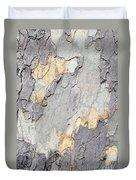 Abstract Tree Bark II Duvet Cover