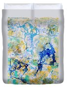 Abstract Under Water Duvet Cover