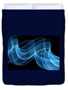 Abstract Wave Duvet Cover