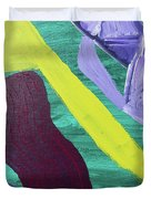 Abstract Woman Duvet Cover