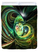 Abstracted Love Fx  Duvet Cover