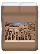 Abu Simbel Egypt 3 Duvet Cover