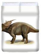 Achelousaurus Horneri, A Prehistoric Duvet Cover