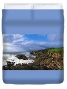 Achill Island, Atlantic Drive, Co Mayo Duvet Cover