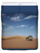 Ad Dahna Is The Red Sand Desert, Twenty Duvet Cover